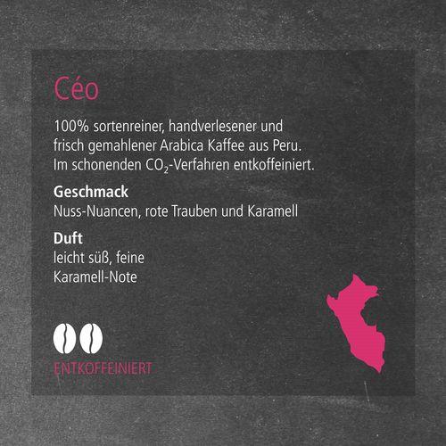 CoffeeBag - Céo (Entkoff.) - Individual Design, weiß ANDRANG GmbH Bahnhofstrasse 54 71332 Waiblingen SANDERS IMAGETOOLS GmbH & Co. KG