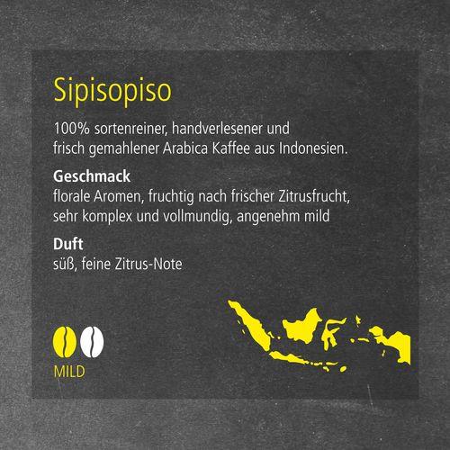 CoffeeBag - Sipisopiso (Mild) - Premium Selection ANDRANG GmbH Bahnhofstrasse 54 71332 Waiblingen SANDERS IMAGETOOLS GmbH & Co. KG