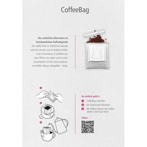 CoffeeBag 5er-Box Individual (sortenrein) ANDRANG GmbH Bahnhofstrasse 54 71332 Waiblingen SANDERS IMAGETOOLS GmbH & Co. KG
