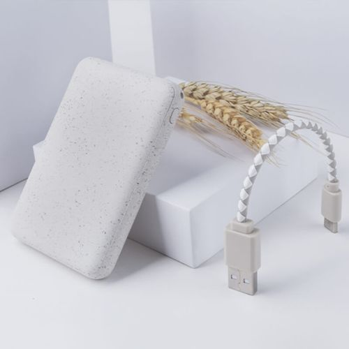 Eco Charger Blanc (blé)