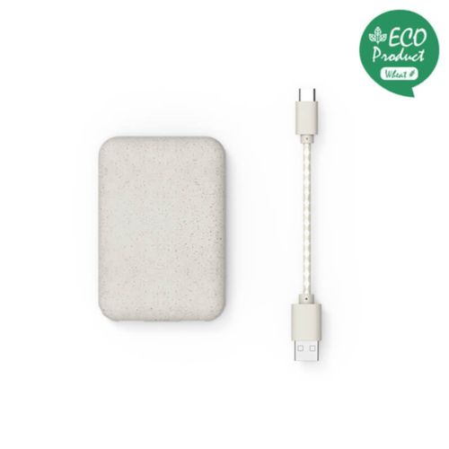 Eco Charger Blanc (blé), Objet personnalisable, comité social économique