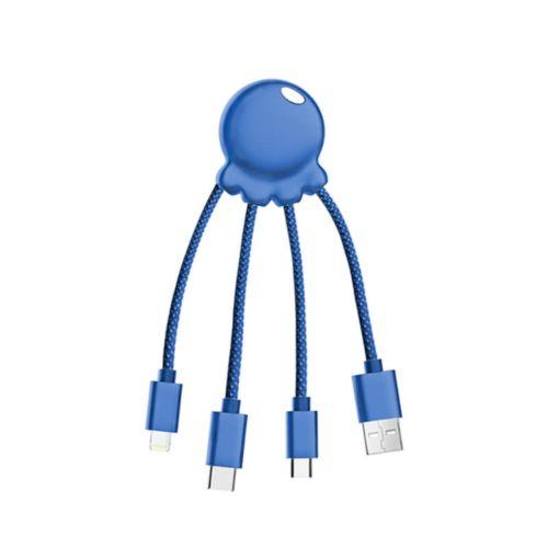 Octopus Métallique  Bleu, Objet personnalisable, comité social économique