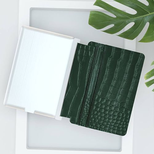 Iné Recycled Leather Alligator Vert