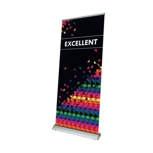Banner Excellent 100 x 200 cm Argent avec impression quadri