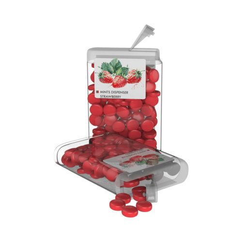 Vip Sweets Strawberry  Transparent with label with full color print