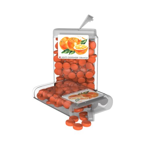 Vip Sweets Orange  Transparent with label with full color print