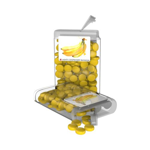 Vip Sweets Banana  Transparent with label with full color print