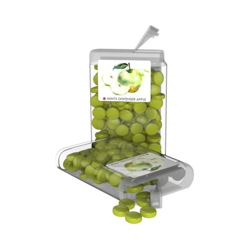 Vip Sweets Apple  Transparent with label with full color print