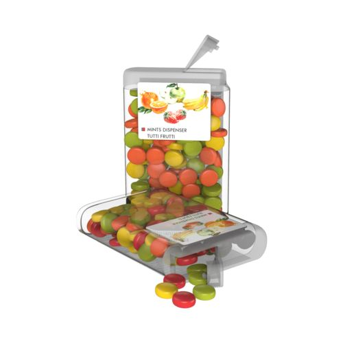 Vip Sweets Tutti Frutti  Transparent with label with full color print