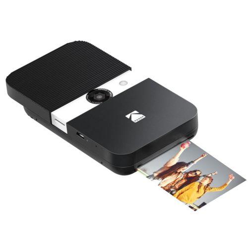 Kodak Smile Instant Print Digital Camera No personalization Noir