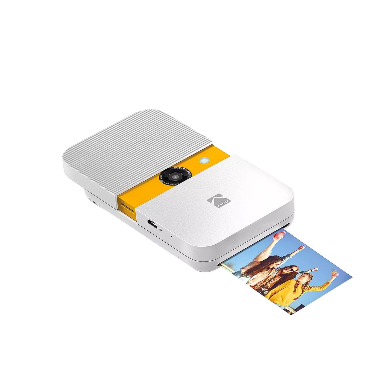 Kodak Smile Instant Print Digital Camera No personalization Blanc