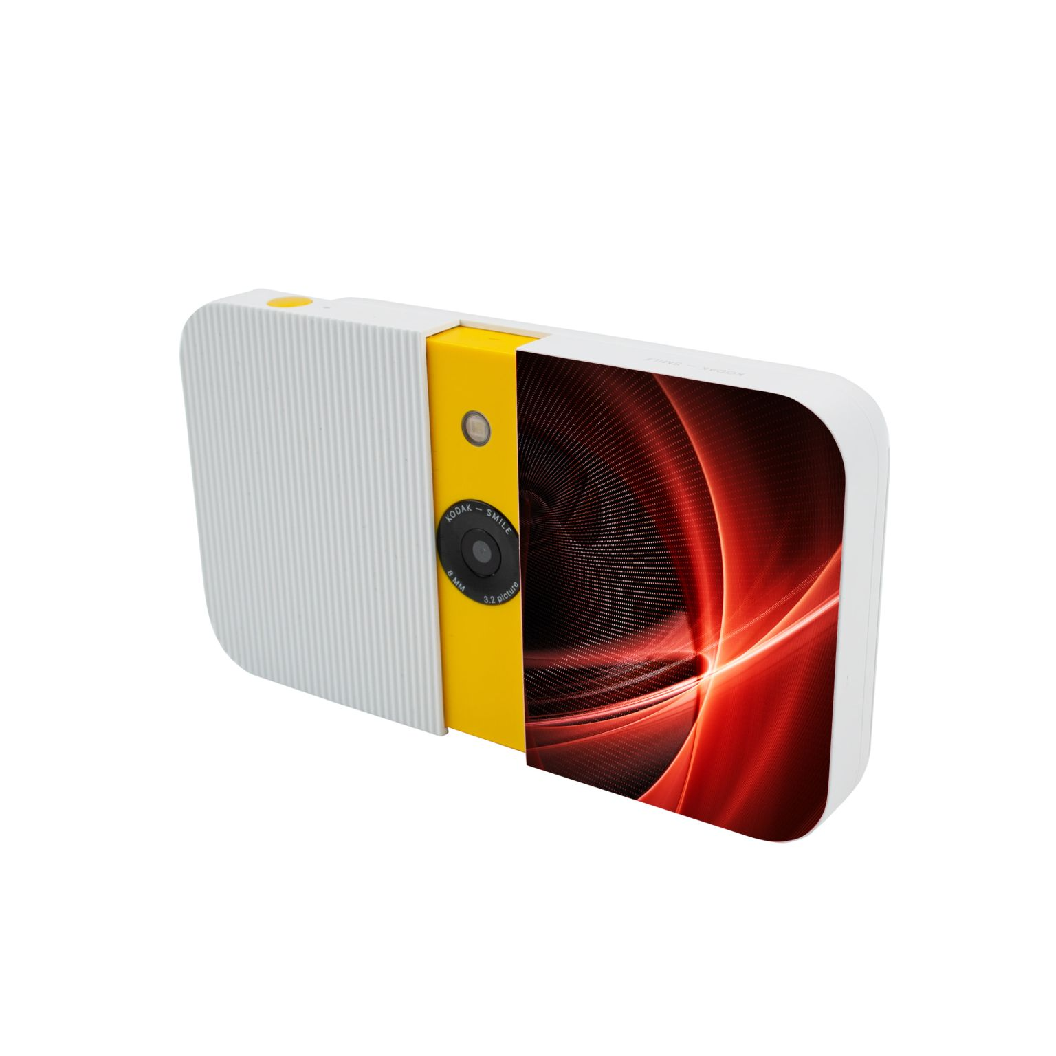 Kodak Smile Instant Print Digital Camera Max Print Blanc avec impression quadri