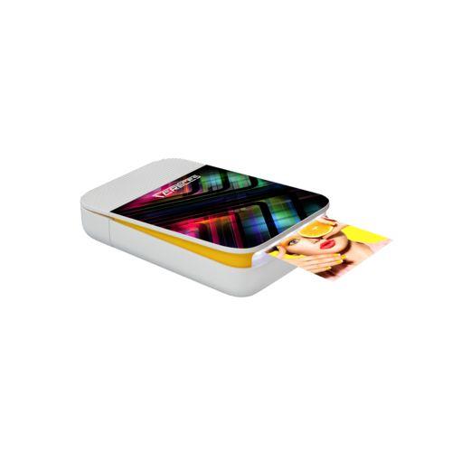 Kodak Smile Instant Digital Printer Max Print Blanc avec impression quadri
