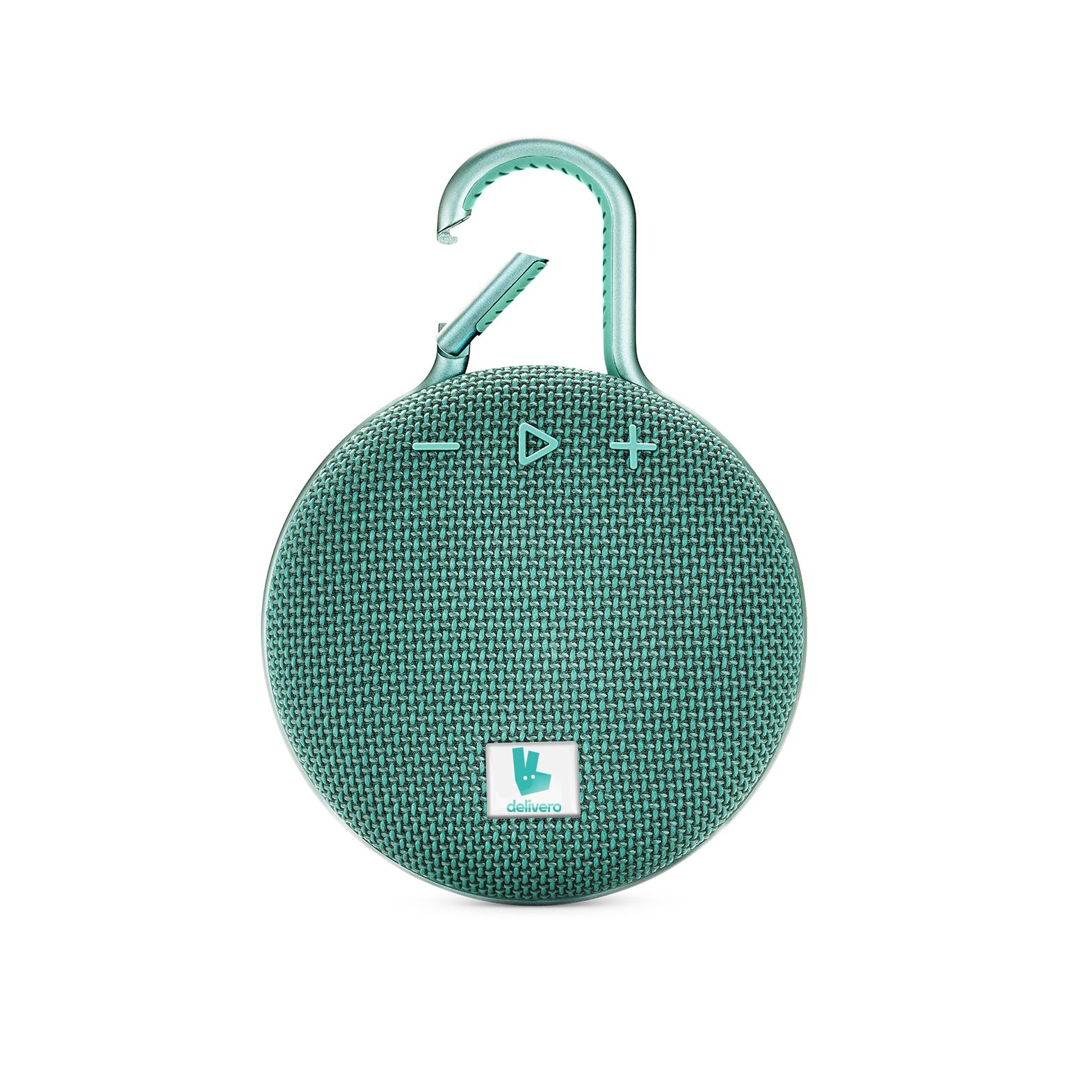 JBL Clip 3 Personalized River Teal with doming in full color