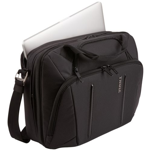 "Thule Crossover 2 Laptop Bag 15.6"" Thermal print in full color Noir"
