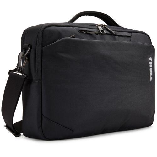 """Thule Subterra Laptop Bag 15.6"""" Thermal print in full color Black"""