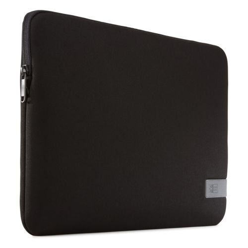 """Case Logic Reflect Laptop Sleeve 14"""" Thermal print in full color Black"""
