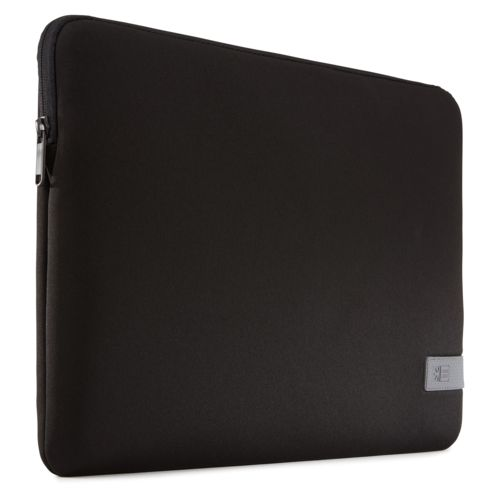 """Case Logic Reflect Laptop Sleeve 15.6"""" Thermal print in full color Black"""