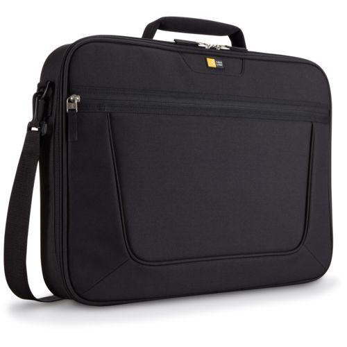 "Case Logic Value Laptop Bag 17.3"" Thermal print in full color Black"