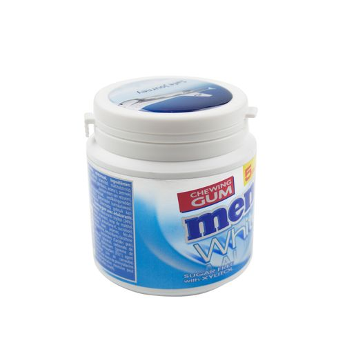 Mentos Canister Doming and label in full color Any color possible with doming in full color