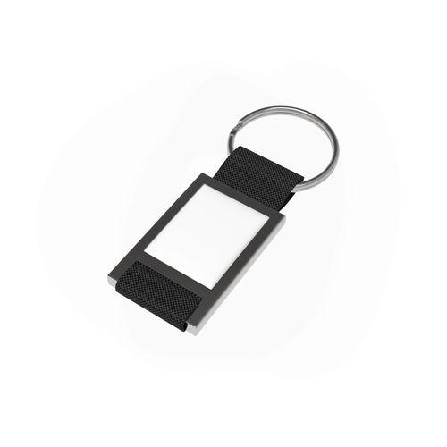 Key Ring Quadro Noir publicitaire à personnaliser aux couleurs de votre société !