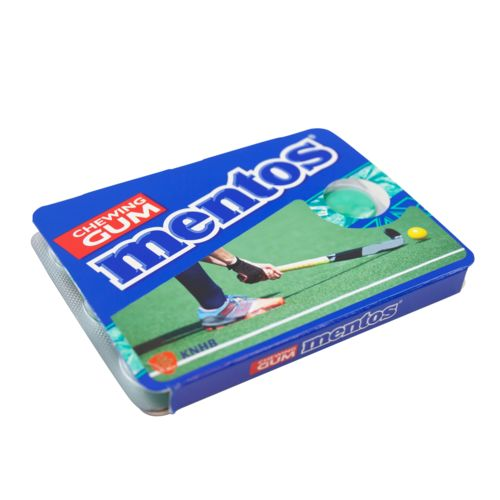 Mentos Pack Cover Any color possible with label with full color print