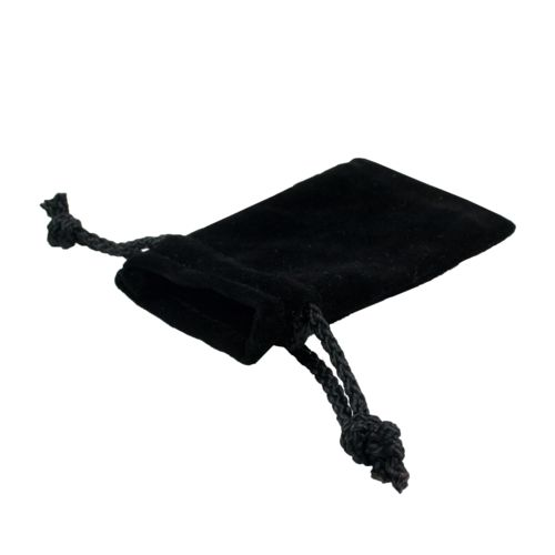 Gift Bag Velvet  Black