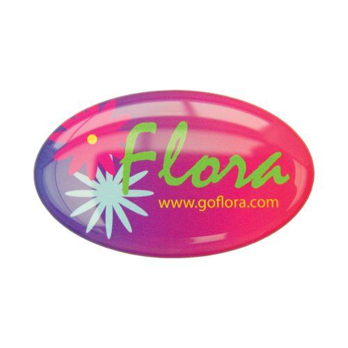 Doming Sticker Extra adhesive, White, 45-50 cm2  avec doming quadri