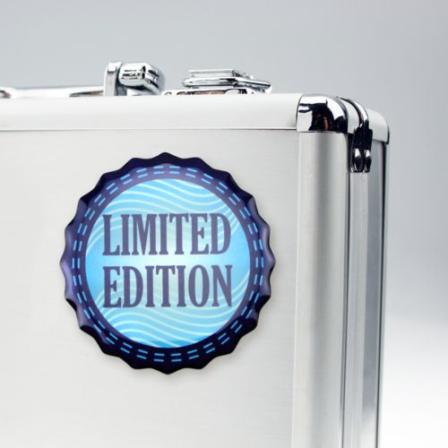 Doming Sticker Contour Extra adhesive, White, 20-25 cm2  avec doming quadri