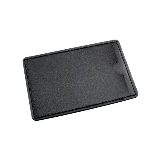 Leather Pouch  Noir