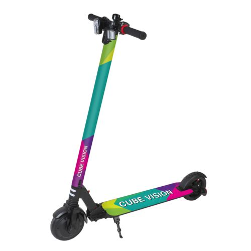 E-Scooter Classic Personalized  Noir avec impression quadri