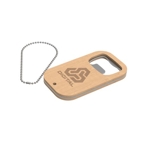 Key Ring Atlanta Marron avec gravure laser