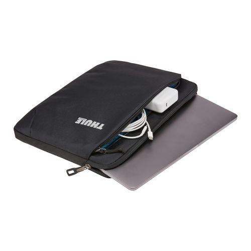 """Thule Subterra MacBook Sleeve 15"""" Thermal print in full color Noir"""