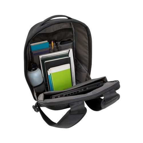 """Cypress 15.6"""" Security Backpack with EcoSmart® Thermal print in full color Noir"""