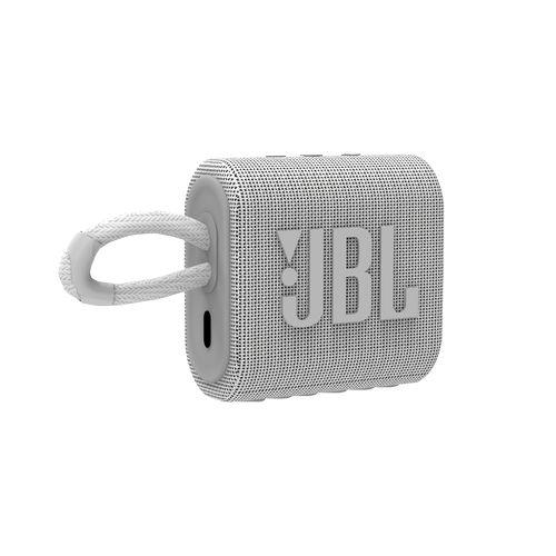 JBL GO 3 White  Blanc