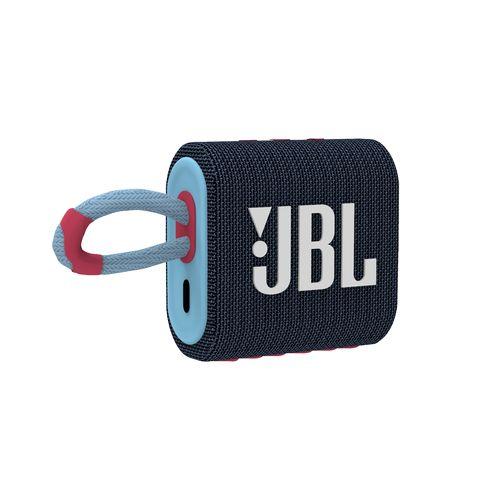 JBL GO 3 Blue / Pink  Bleu/Rose