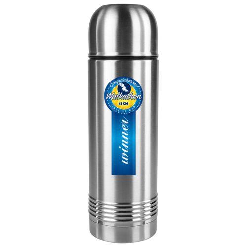 Tefal Senator Insulated Bottle 0.7L  Argent avec impression quadri
