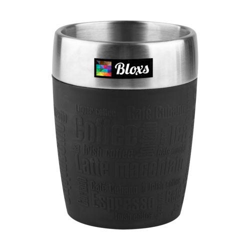 Tefal Travel Cup 0.2L  Noir avec impression quadri