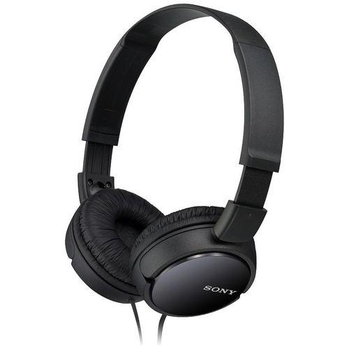 Sony On-Ear Headphone MDR-ZX110 Black  Noir