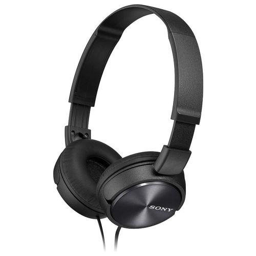Sony On-Ear Headphone MDR-ZX310 Black  Noir