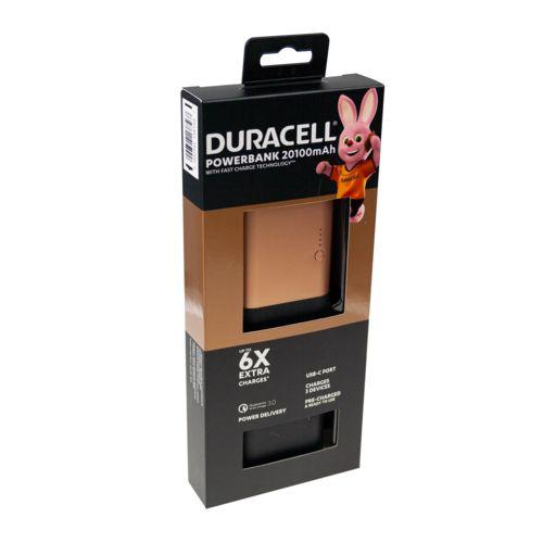 Duracell Powerbank 20100 mAh