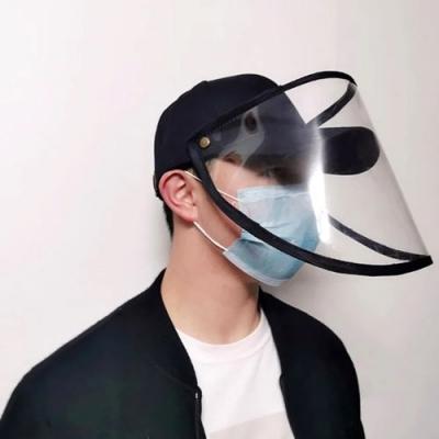 Casquette De Baseball Avec écran Facial De Protection