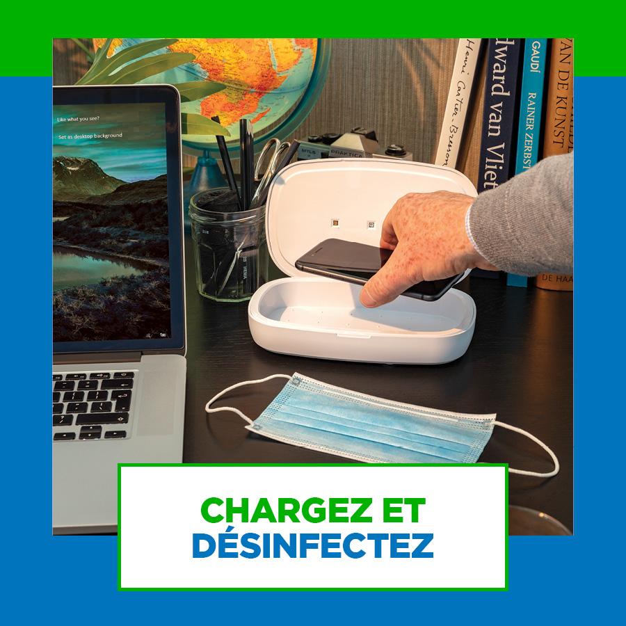 Boîte de stérilisation SOBELPU SPRL objet publicitaire personnalisable Belgique