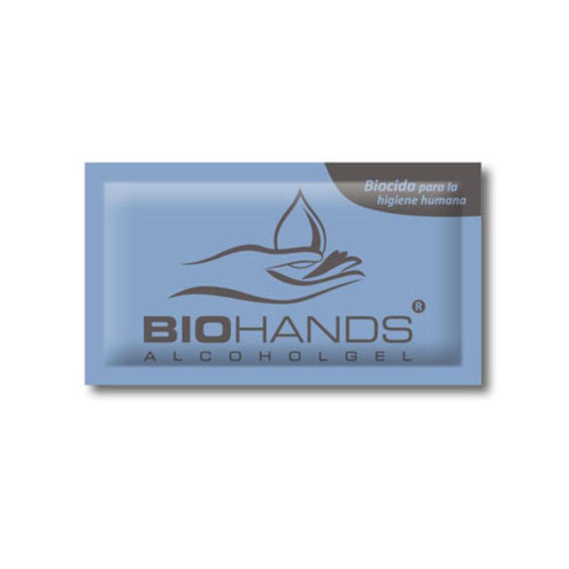Sachet gel hydroalcoolique