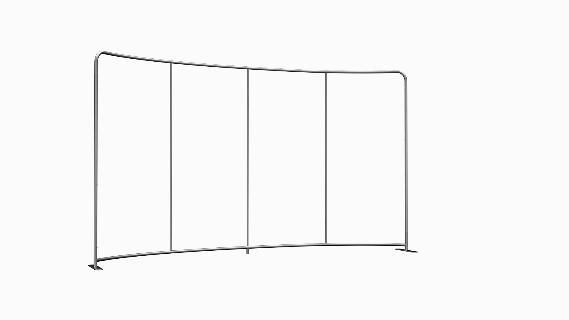 Mur d'image TxW Curved 400 cm x 228 cm