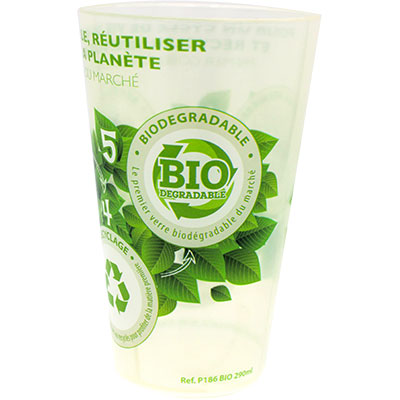 Gobelet biodégradable
