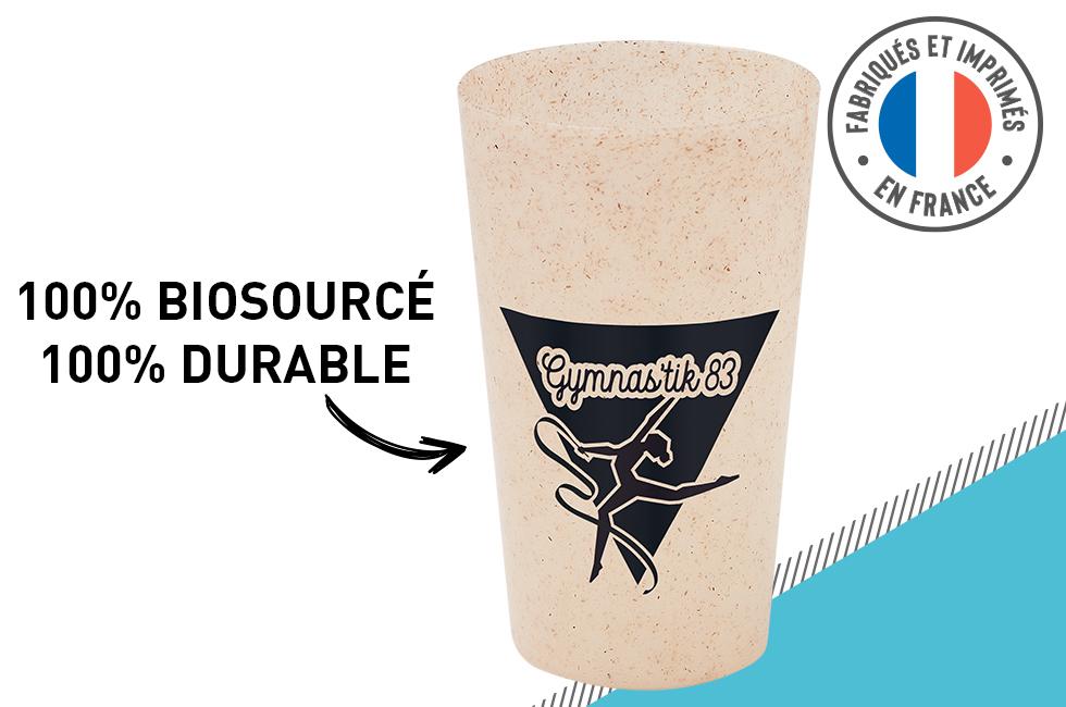 Gobelet roseau 30cl 100% made in France 100% écologique