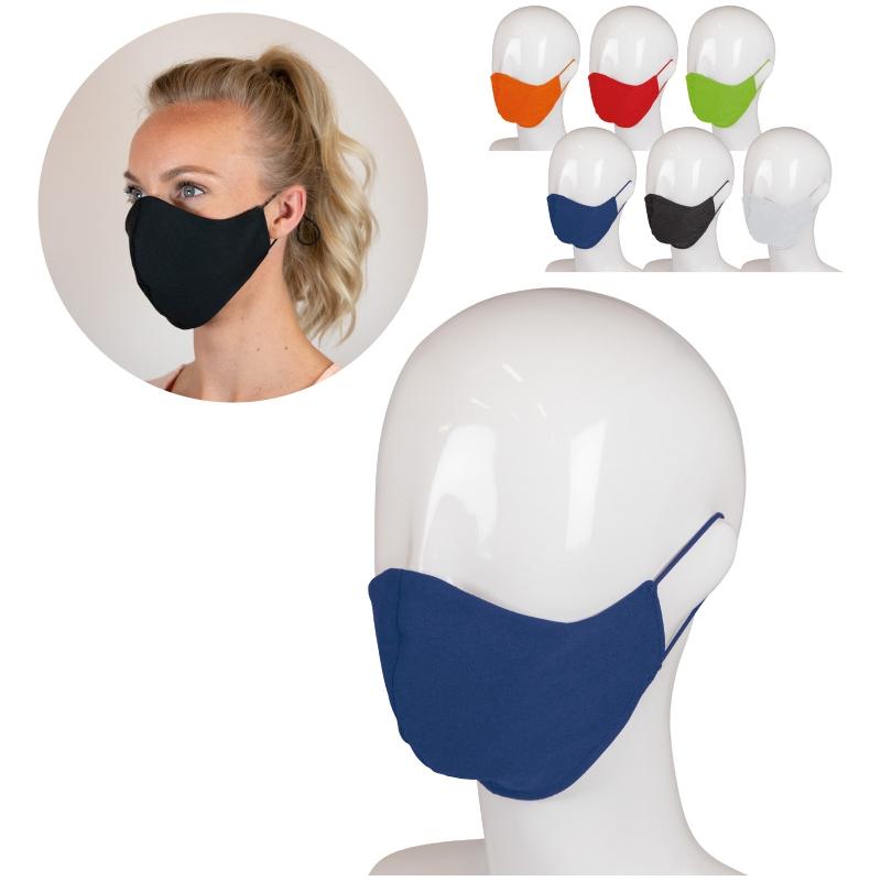 Masque  réutilisable triple épaisseurs fabriqué aux Pays Bas