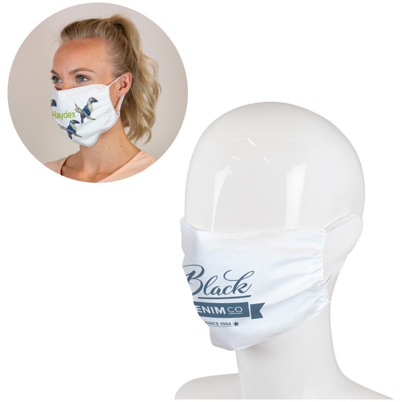 Masque Full Color en polyester fabriqué aux Pays Bas