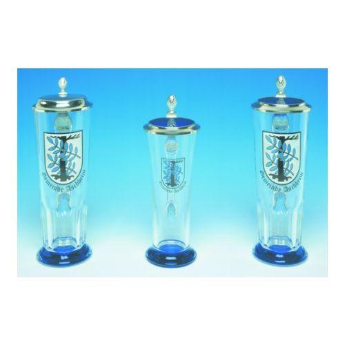 Glas Bierkrug Glasseidel 0,5 Liter Walter Präsente personalisierte Werbeartikel